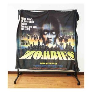 The DAWN OF THE DEAD throw blanket