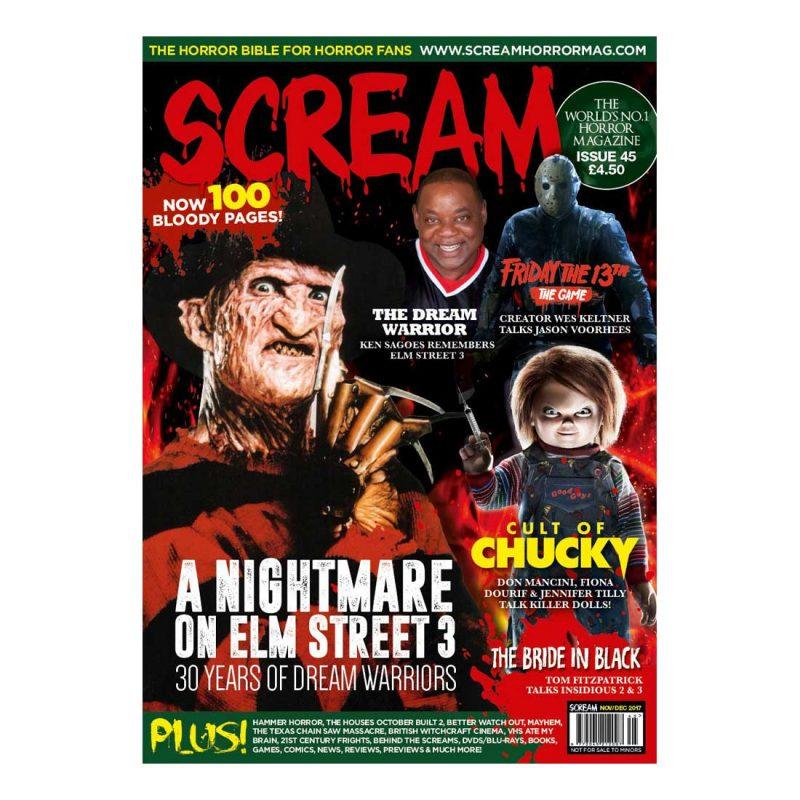 SCREAM Magazine Issue 45