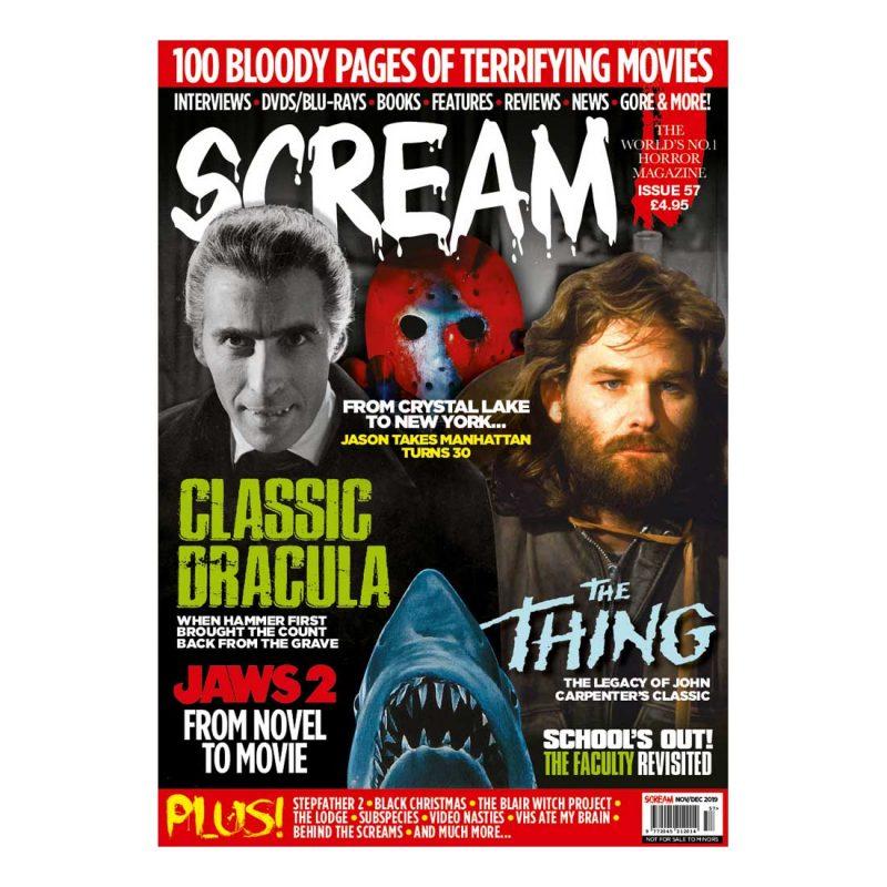 SCREAM Horror Magazine Issue 57