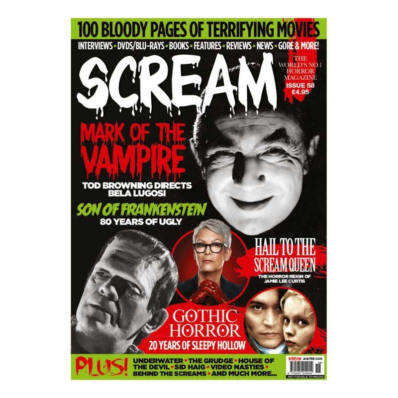 Scream Horror Magazine Issue 58
