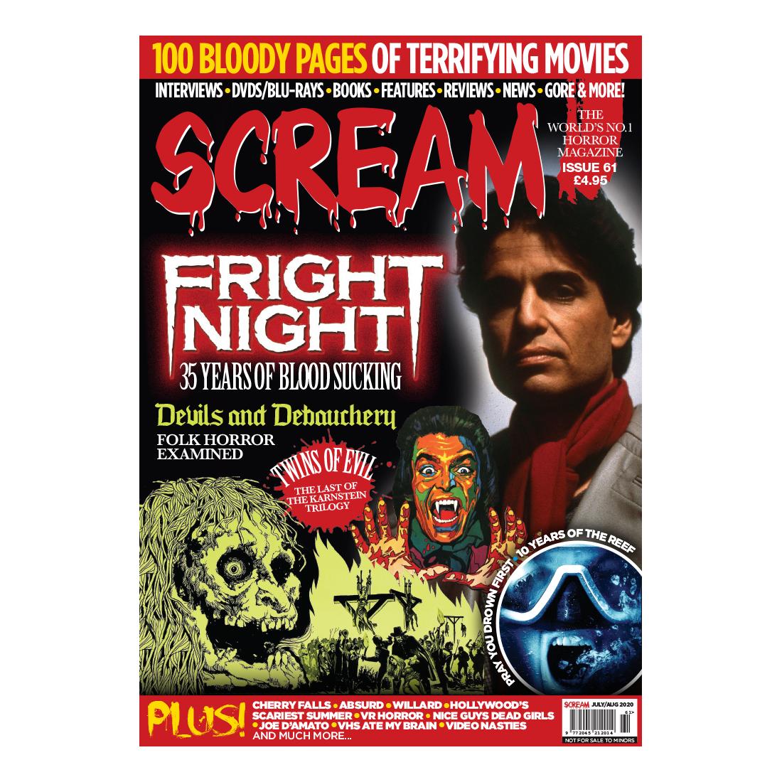 Horror Magazine Back Issues